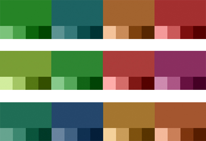 Hr Grafik Farben Gruen