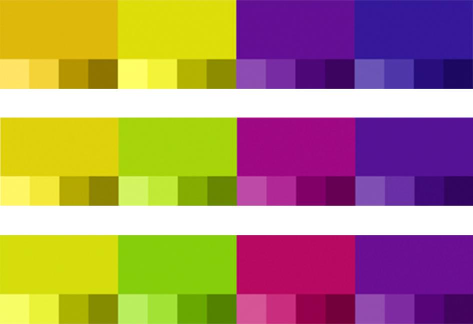 Hr Grafik Farben Gelb