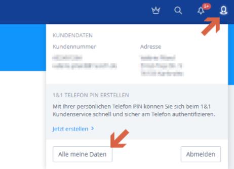 Daten-Websites für Telefone