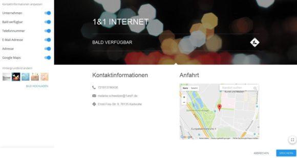 Das Potenzial Homepage Teil 1 5 Moderne Visitenkarte