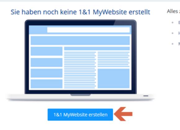 1 1 Ionos Mywebsite Homepage Bearbeiten