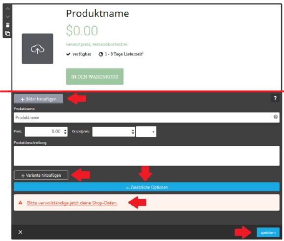 Jimdocom So Erstellst Du Einen Onlineshop
