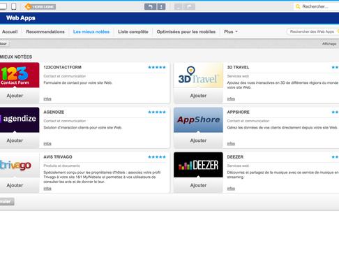 1&1 - Web Apps