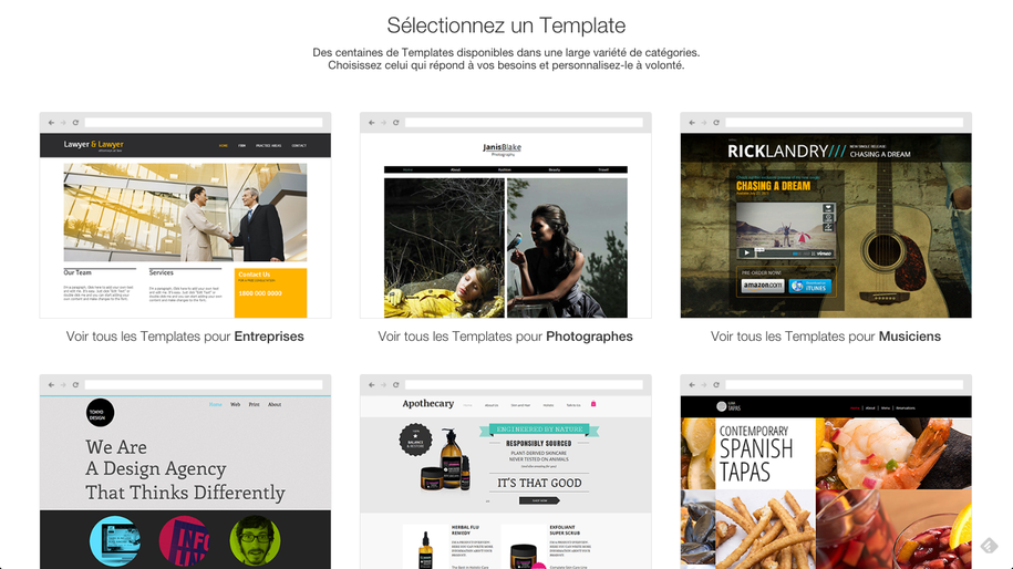 Wix Design Templates Layouts