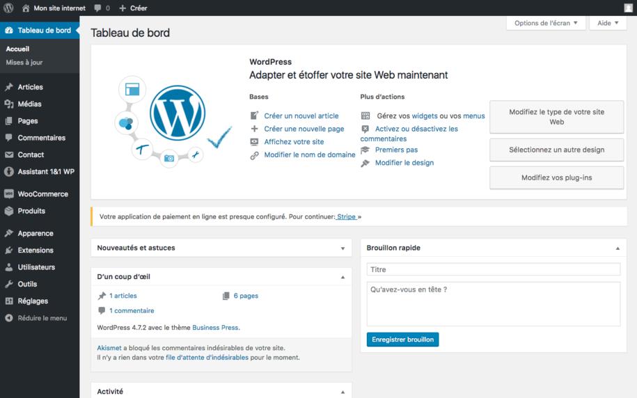 Wordpress - c'est 25% du web