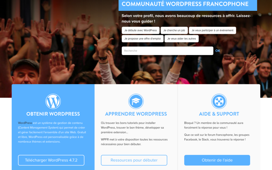Wordpress - Assistance