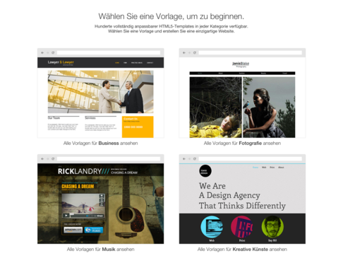 Wix Designvorlagen Templates Layouts