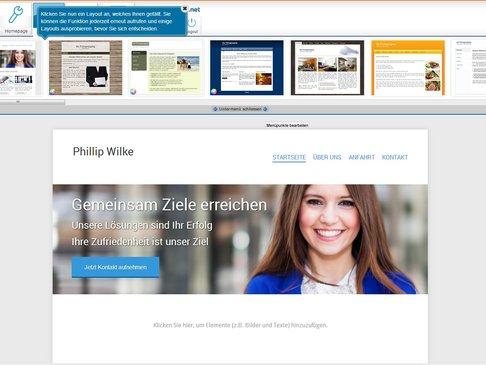 Webvisitenkarte.net Design