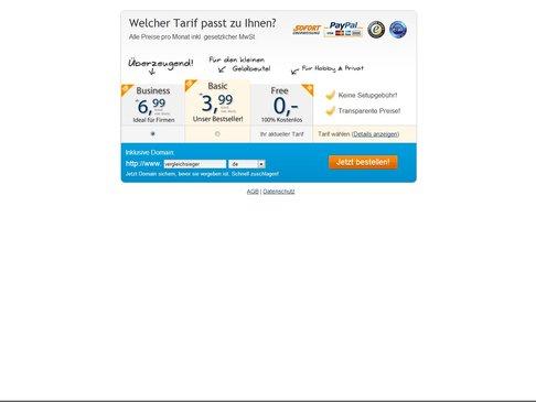 Webvisitenkarte.net Tarife